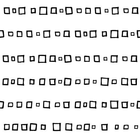 シンプルな正方形のシームレスな抽象的なパターン。