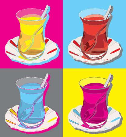 トルコ茶ベクトル