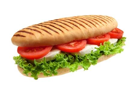 nutriments: Un sandwich de mozzarella, tomate y ensalada