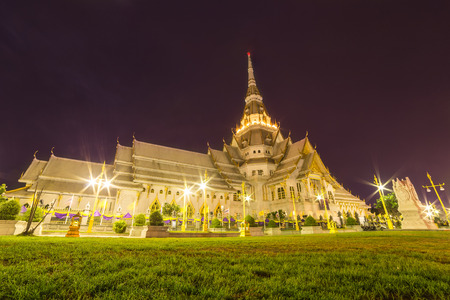 thailand art: Beautiful chapelchurch of Thai temple in Thailand Stock Photo