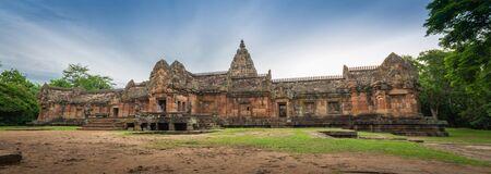 buriram: The ancient castle in Buriram Province of Thailand Prasat Phanomrung