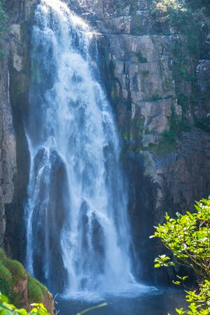 water fall: Photo of water fall in big mountain national park of Thailand. Name of water fall is Heaw Narok Stock Photo