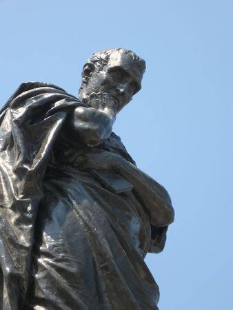 naso: Publius Ovidius Naso Stock Photo