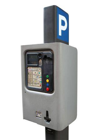 dime: parking meter