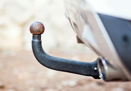 remolque: Coche o vehículo enganche gancho para remolque