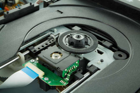 cd rom: Cd rom read with senser and chipset