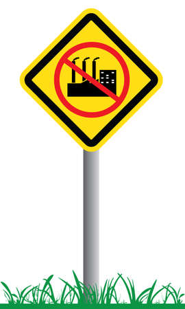Stop industrial Vector