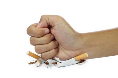 stop smoking, isolated