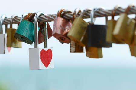 key lock of heart love photo