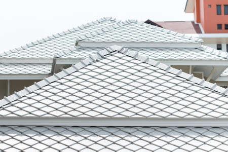 shingles: diseño tradicional techo asia