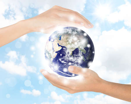protect earth: hand protect earth environment,