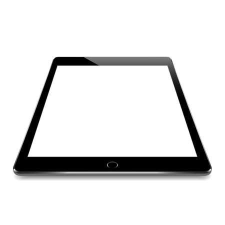 black tablet vector design