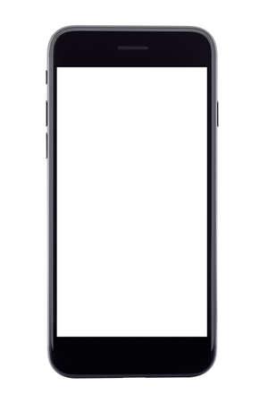 Telefoon geïsoleerd op witte achtergrond Stockfoto - 68036057