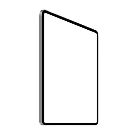 digital tablet vector drawing perspective angle view 矢量图像
