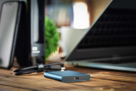 external hard drive new technology fast and small