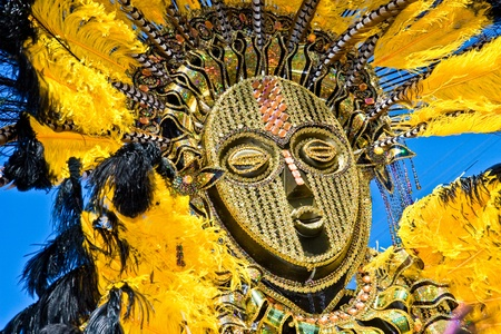 Carnival in Trinidad brings out colorful costumes