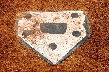 home plate on a little league baseball field Stock Photo - 18878029