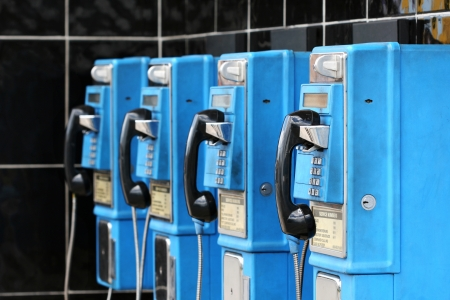 hangup: hanging up on old technology - pay phones in the caribbean