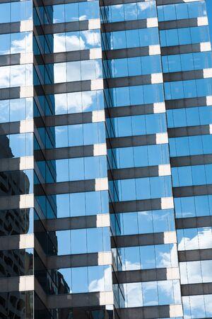 glass building pattern Stock Photo