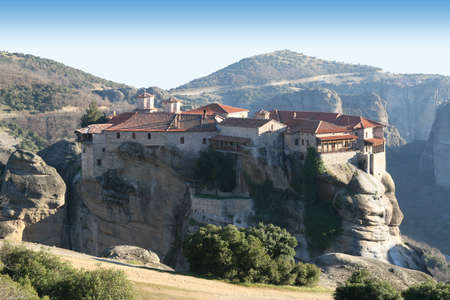 Monastery in top of a rock
