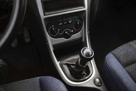 Car interior of european car Stock Photo