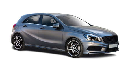 Hatchback compact car Editorial