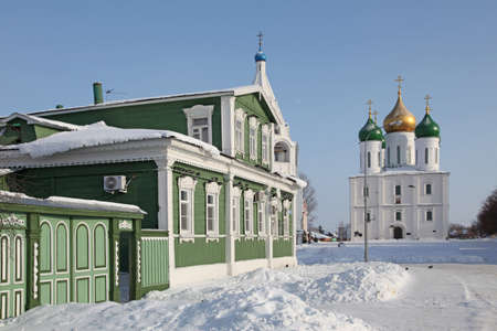 Russia  Winter Kolomna city veiw photo