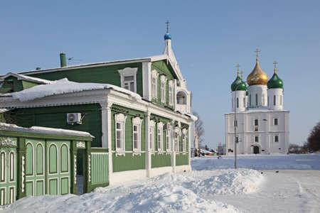 veiw: Russia  Winter Kolomna city veiw