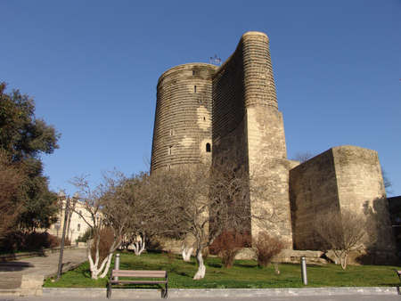 baku: Azerbaijan  Baku  Maiden tower