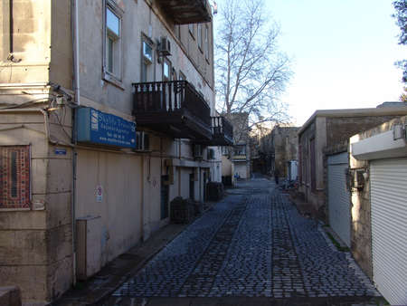 veiw: Azerbaijan  Baku, City streets veiw