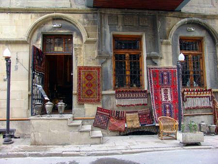 baku: Azerbaijan  Baku, City streets veiw                      Stock Photo