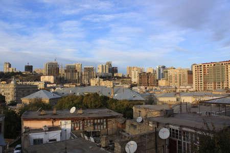 baku: Azerbaijan  Baku, City veiw Stock Photo