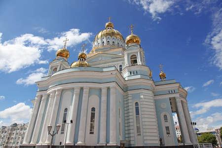 theodor: Russia  Mordovia republic  Cathedral in Saransk