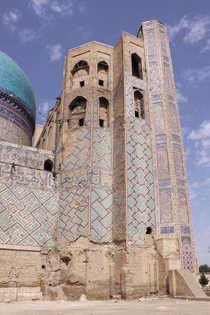 samarkand: Uzbekistan, Samarkand  Bibi Khanum complex Stock Photo