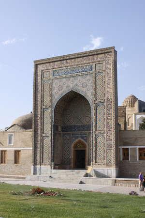 samarkand: Uzbekistan, Samarkand  Shah-i-Zinda complex in Samarkand