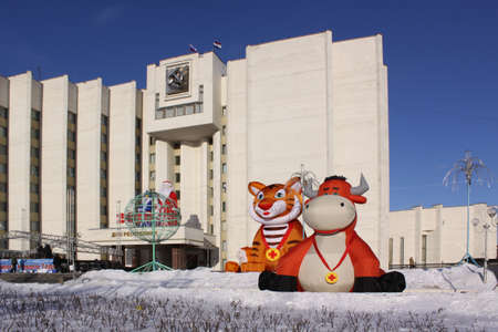 veiw: Russia  Mordovia republic  Saransk city veiw