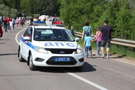 spacial: Russia Police car