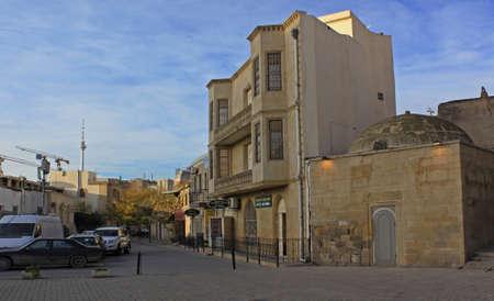 baku: Azerbaijan Baku Old city Editorial