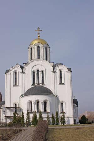 minsk: Belarus  Minsk  Church Stock Photo