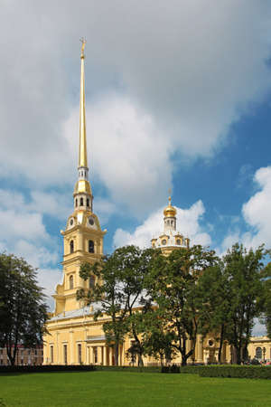 Saints Peter and Paul Cathedral, Saint Petersburg, Russia