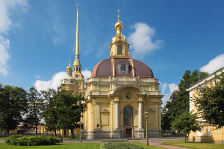 peter the great: Saints Peter and Paul Cathedral, Saint Petersburg, Russia