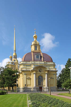 sobor: Saints Peter and Paul Cathedral, Saint Petersburg, Russia
