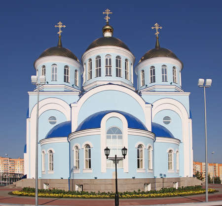Church of Our Lady of Kazan in Saransk. Mordovia republic. Russia