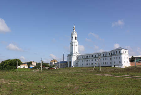 Preobrazhensky male monastery in Krasnoslobodsk, Mordovia republic, Russia