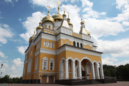 View at Russia The Church of Cyril and Methodius in Saransk, Mordovia republic, Russia