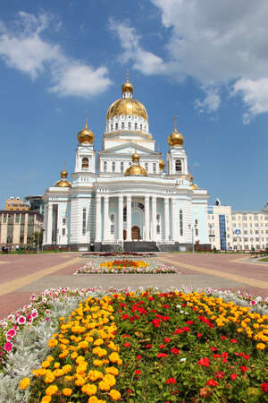 Russia. Mordovia.Cathedral of St. Warrior Feodor Ushakov