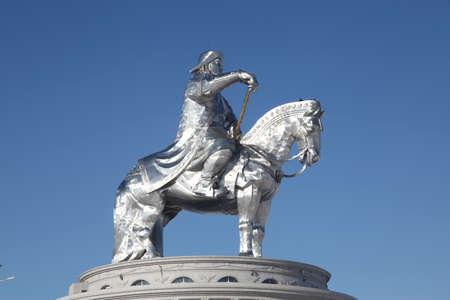 Genghis Khan monument in Ulaanbaator, Mongolia