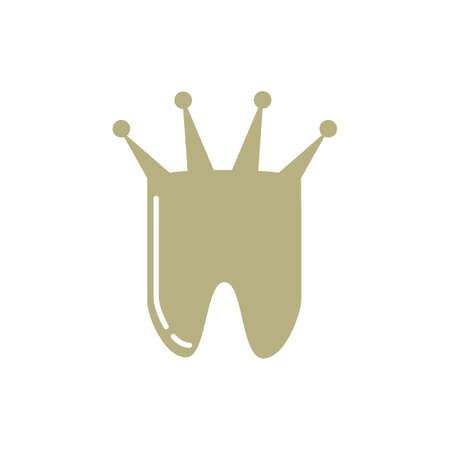 logo: Tooth with crown logo