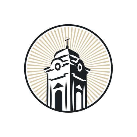 roman catholic: Roman catholic church tower
