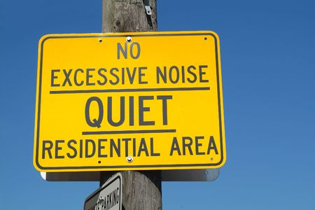 A street sign in what is hopefully a quiet residential area. Stock Photo - 561632